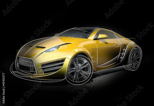 szkic-samochodu-koncepcyjnego-oryginalny-projekt-samochodu