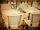 old-fashioned Cafe terrace - 45464790