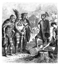 Barbarians Meeting Romans - Antiquity