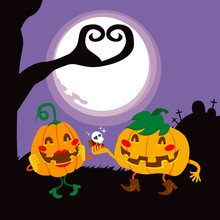 Halloween Pumpkin Lovers