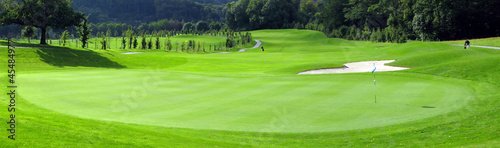 Spoed Foto op Canvas Golf Golf course