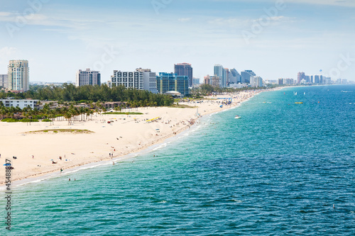 Motiv-Rollo Basic - Fort Lauderdale Beach, Ft. Lauderdale, Florida (von Ruth P. Peterkin)