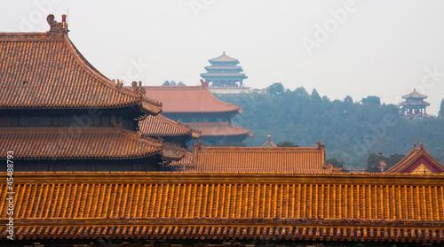 Papiers peints Pékin Forbidden City and Jingshan Park