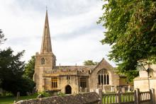 Parish Church Of Stanton In Cotswolds