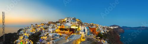 Fototapeta Santorini sunset (Oia) - Greece obraz