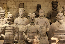 The Famous Terracotta Warriors...