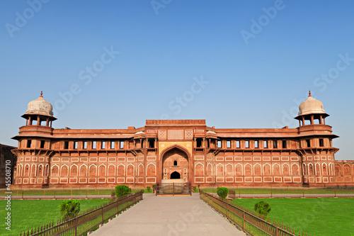 Stickers pour porte Delhi Redi Fort, India