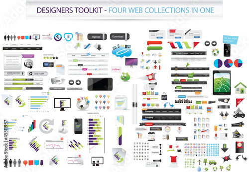 Fotografía  Designers toolkit - Four collections in one