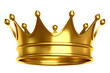 canvas print picture - Gold crown