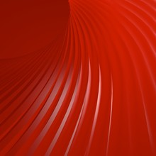 Red  Light  Hole Swirl Curve 3d Background