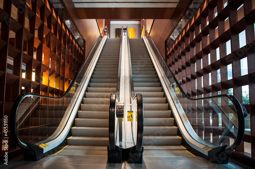 Fotografie, Obraz Empty escalator