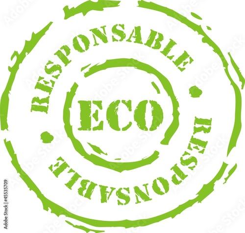 Fotografie, Obraz  tampon eco responsable