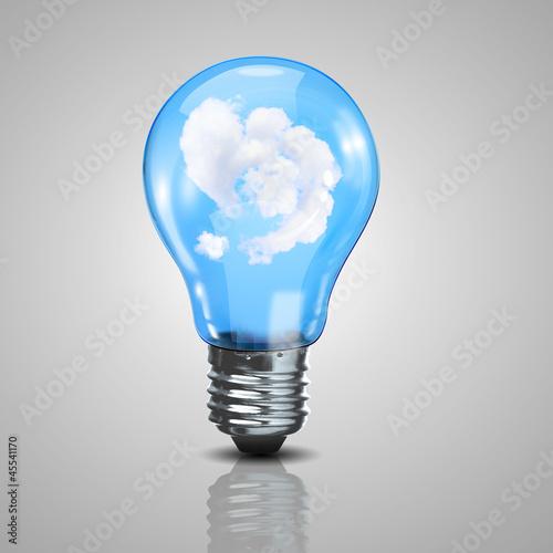 Fototapeta green energy symbols obraz na płótnie
