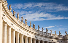 The Colonnade Of Saint Peter's...