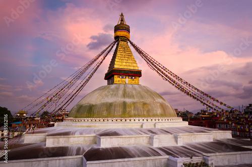 Fotografie, Obraz  Boudhanath (Boudnath) Stupa in the Kathmandu, Nepal