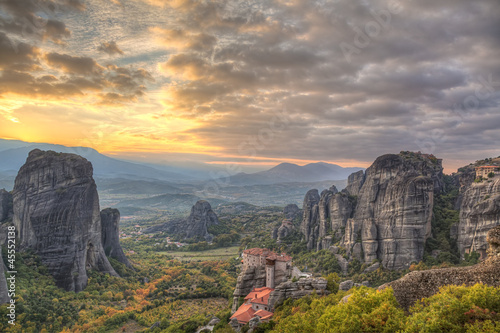 Meteora,Greece Canvas-taulu