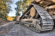 A Bulldozer As Hdr Picture