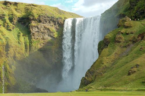 Fototapety, obrazy: Skogafoss waterfall.