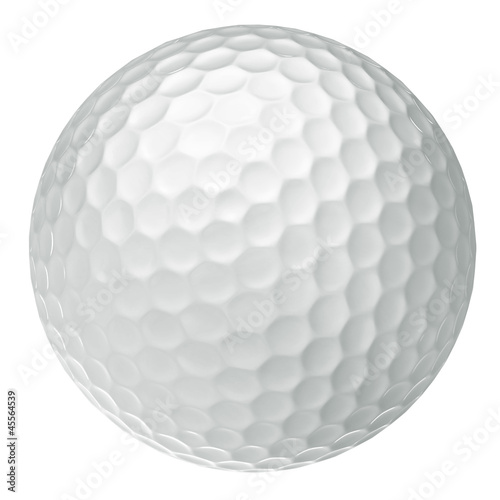 Spoed Foto op Canvas Bol classic golf ball