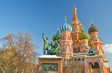 Fototapeta na wymiar Saint Basil's Cathedral, Russia
