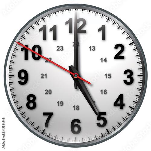 Photo  5 bw clock