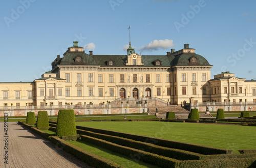 Stampa su Tela  Drottningholms slott (royal palace)  Stockholm, Sweden