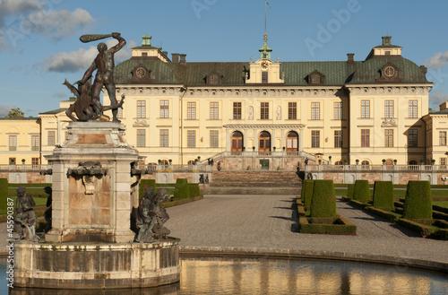 Fotografia  Drottningholms slott (royal palace)  Stockholm, Sweden