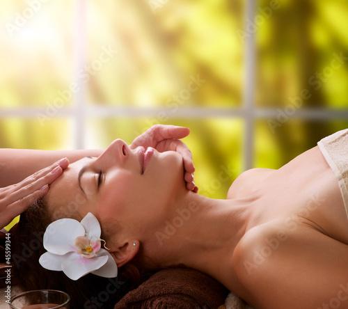 Spa Facial Massage