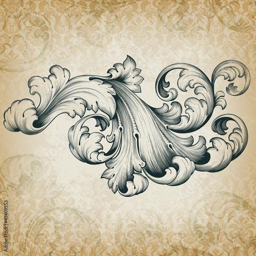 wektor-wzor-barokowy-kwiatowy-przewijania