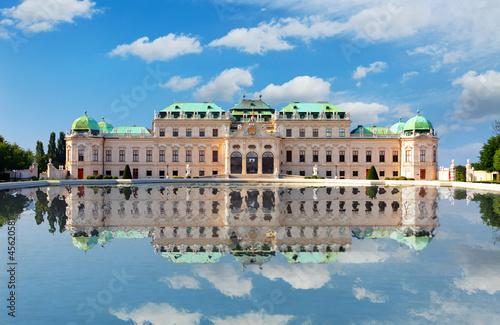 Garden Poster Vienna Belvedere Palace in Vienna - Austria