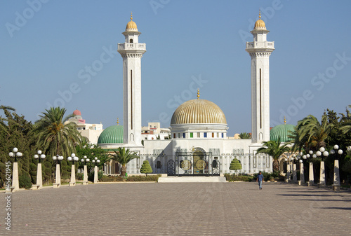 Poster Tunesië Mausoleum of Bourguiba in Tunisia in Africa