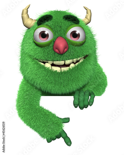Recess Fitting Sweet Monsters 3d cartoon cute furry devil