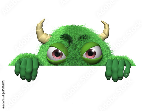 Poster Sweet Monsters 3d cartoon cute halloween monster
