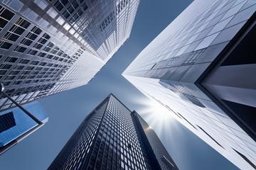 Buildings en contre-plongée - New York