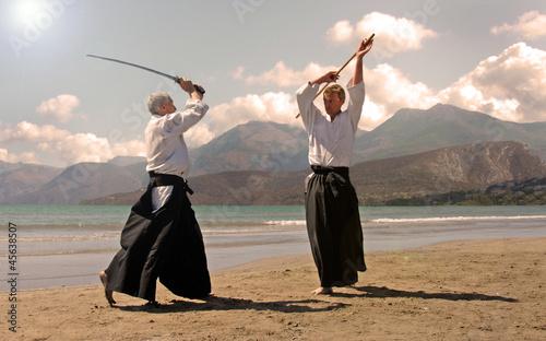 Photo aikido in japon