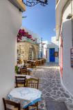 Piękna uliczka w Grecji