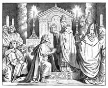Crowning Emperor Carolus Magnus - 8th Century