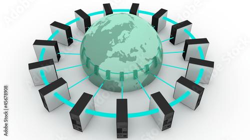 Papel de parede Conectividad