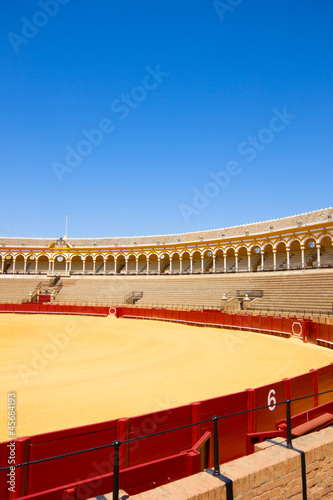 bullfight arena in Seville, Spain