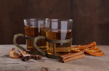 Fototapeta Herbata Winterlicher Tee