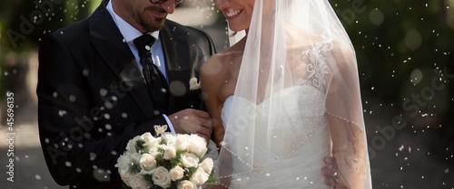 Fotografering sposi felici