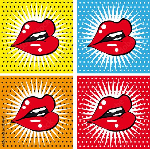 otworz-sexy-mokre-czerwone-usta-z-zebami-pop-art-zestaw-tla