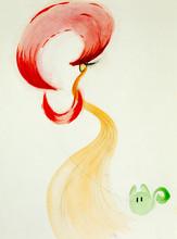 Colorful Hand Drawn Illustration Of Stylish Woman