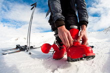 Getting Ready For Skiing - Fas...
