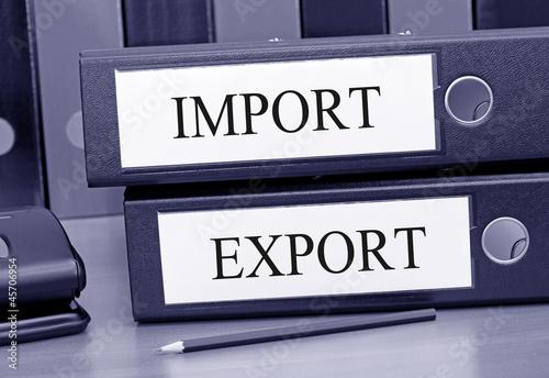 Fotografia, Obraz  Import Export