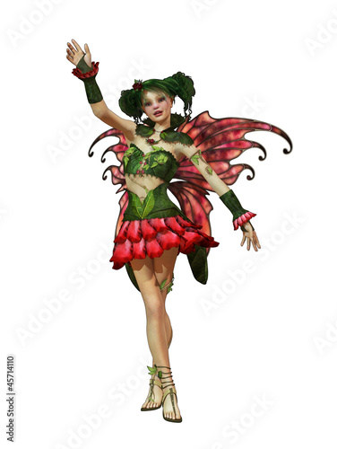 La pose en embrasure Fées, elfes Happy Summer Pixie CA