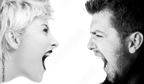 Nowoczesny obraz na płótnie Severe Conflict