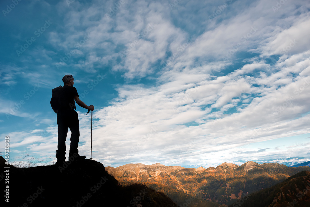 Fototapety, obrazy: Trekking