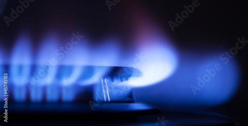 Fotografie, Obraz  gas flame part