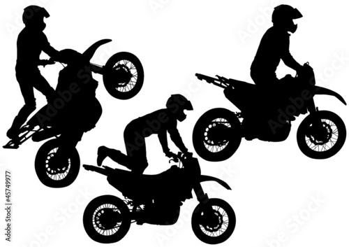 Poster Motocyclette Extreme moto